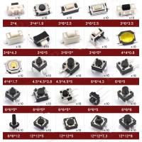 Set 250pcs 25 Types Boutons poussoirs tactiles