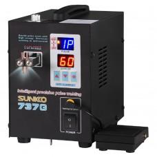 Sunkko 737g LED Dual Pulse Spot Welder 18650 Batterie (800a)