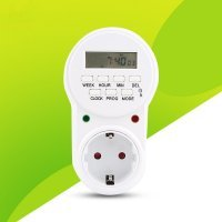 Plug Timer Programmateur numérique 8 programmes