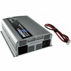 1000W(crête 2000W) Onde sinusoïdale pure onduleur DC12V CA 220-240V CA