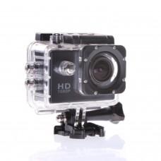 12MP HD 1080P Casque Vélo Sports DV Action Caméra étanche (noir)