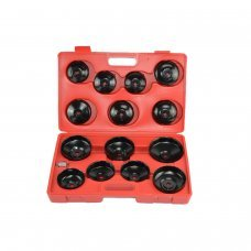 14 PC Drive Oil Filter Wrench Socket Cup Type Oil Filter Cap Tool
