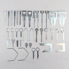38 PC Stereo Removal Keys Tool Set Release Extraction Car CD Radio Audio