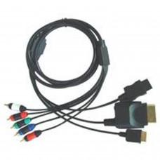 Câble à composants 4 en 1 (PS2/PS3/Wii/XBOX360)