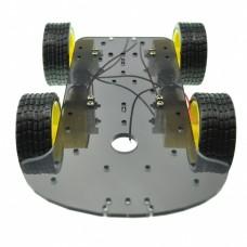 4 WD Robot mobile à quatre roues Châssis de voiture
