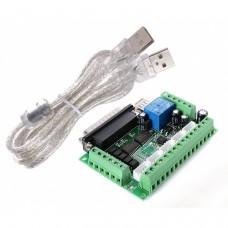 5 Axes Adaptateur de carte d'éclatement CNC pour moteur pas à pas Mach3+câble USB