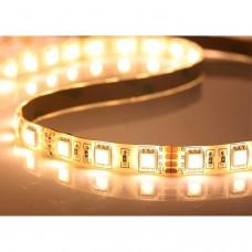 5meter 60-LED 5050 SMD Bande Flexible Blanc Imperméable à l'Eau Bande Flexible Lumineuse Economique Couleur 3000k