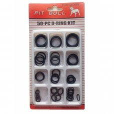 50 pcs Assorted Set O Ring Rubber Seals Plumbing Tap Washer Kit