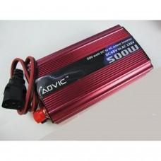 500W Chargeur d'alimentation de voiture onduleur (220V)
