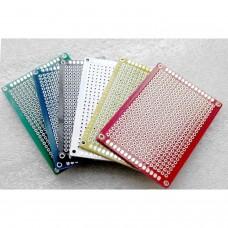 5cmx7cm test board Universal 1.2mm d'épaisseur couleur verte