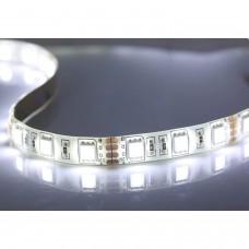 5METRES 60-LED 5050 SMD Bande Flexible Blanc Imperméable à l'Eau Bande Flexible Lumineuse Economie d'énergie couleur 6000-6500k