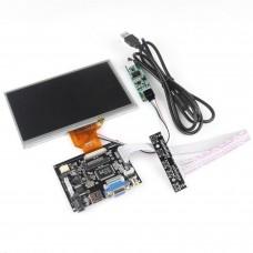 7 Inch TFT Moniteur LCD pour écran tactile Framboise Pi + Driver Board HDMI VGA 2AV
