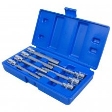 7 pièces 3/8'' DRIVE HEX ALLEN ALLEN KEY EXTRA LONG 110MM INCH SOCKET BIT SET