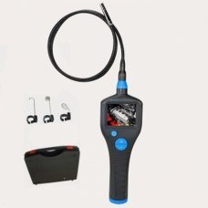 8,2 mm Waterproof  Borescope Endoscope Flexible Inspection Camera with Monitor 2,7