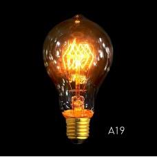 A19B Spirale E27 Filament de l'Ampoule de 40W Edison Vintage Décoratif Industrielle
