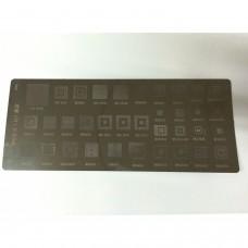 a90 Plaque de pochoir MTK pour 36 téléphones portables ic