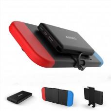 Chargeur portable Power Bank pour commutateur Nintendo 10000mAh Compact Batterie rechargeable (Noir)