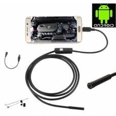 AN98A Vidéo d'inspection de l'endoscope Caméra 5,5mm Caméra 1 mètre 6 leds étanches