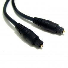 Câble audio optique 2m avec Toslink Noir M/M
