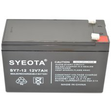 Lead  Battery 12V / 7Ah SY7-12, NP7-12, FG20721, LC-R127R2PG, NP7-12L