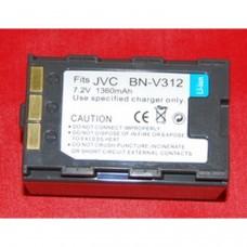 Remplacement des piles pour JVC BN-V312