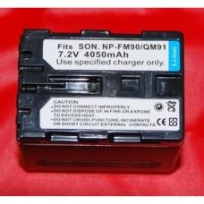 Remplacement des piles pour SONY NP-FM90/QM91