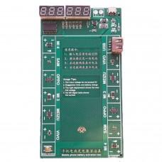 Battery Test Activate Charge Board Plate+Micro USB Cable for Vivo, Oppo, Samsung, Meizu,mi mi4 mi3