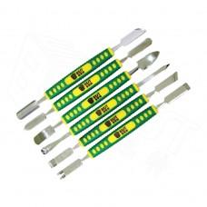 6pc BEST 149-154 Jeu d'outils Jeu d'outils Ouverture de réparation Caoutchouc Métallique Kit