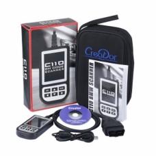 C110 OBD2 OBD2 BMW Airbag ABS Lecteur d'outils de diagnostic de codes de panne moteur pour BMW
