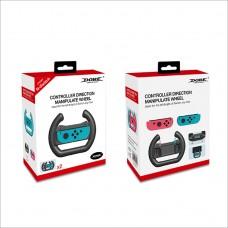 Manipulateur de Direction pour Nintendo Switch Joy-Con Manette de Manipulation Volant Volant Dobe Twin Pack Twin