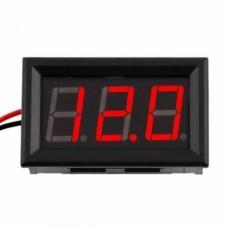 DC Tensiomètre à LED 3.5~30V pour panneau de LED Voltmètre à LED Voltmètre Voltmeters  2.70 euro - satkit