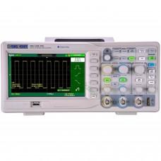 Oscilloscope numérique Siglent SDS1102CML+ 100mhz 7