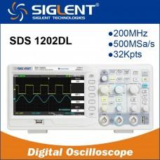 Oscilloscope numérique SIGLENT SDS1202DL 200mhz 7