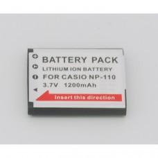 Remplacement pour CASIO CNP110/NP-110