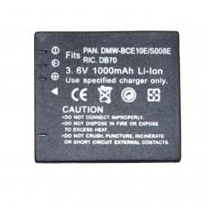 Remplacement pour PANASONIC CGA-008E/BCE10E