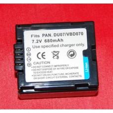 Remplacement pour PANASONIC DU07/VBD070