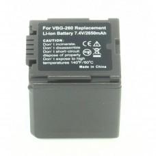 Remplacement pour PANASONIC VW-VBG260
