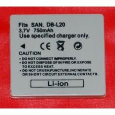 Remplacement pour SANYO DB-L20