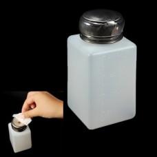 Bouteille avec distributeur de liquide par pression 200ml
