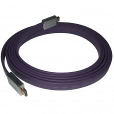 Câble HDMI plat V1.4 AV HD 3D pour PS3 PS4 Xbox ONE HDTV 3 mètres 1080P