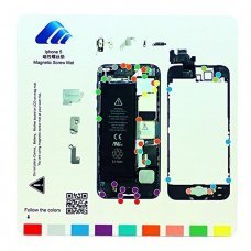 For Iphone 5  Professional Magnetic Pad Guide Mag Screw Keeper Mat
