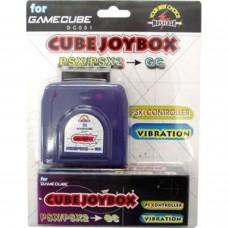 GameCube Joybox Psx/Ps2 Adaptateur contrôleur compatible pour Gamecube
