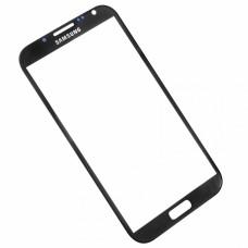 Écran extérieur avant de remplacement en verre noir pour Samsung Galaxy NOTE 2
