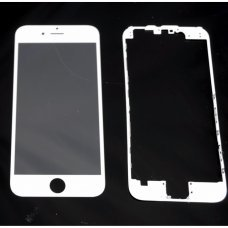 Glass WHITE Replacement Front Outer Screen For Iphone 6s 4,7