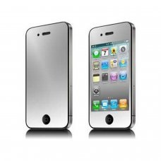 iphone 4g écran anti-rayures protecteur d'écran (effet miroir)