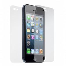 iphone 5/5s écran anti-rayures protecteur d'écran avant et arrière