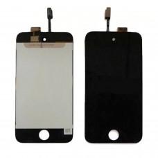 Itouch 4 Lcd écran avec numériseur tactile et verre prêt à installer NOIR
