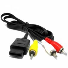 Cable AV Nintendo 64/ N64 /SNES/ NGC /Gamecube