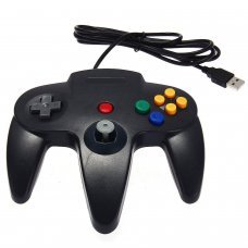 Wired Nintendo 64 Style USB Controller For PC And Mac