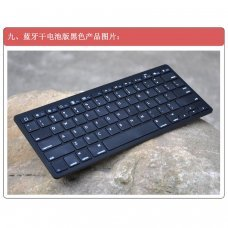 Clavier Bluetooth, Iphone, Iphone, Ipad, Android, Pc, Ps3, Htpc etc.